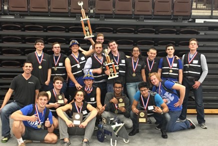 Robotics team wins regional competition