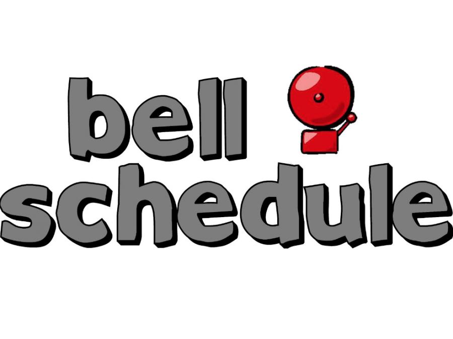 Final Exam Bell Schedule - Sem. 1, 2019-20