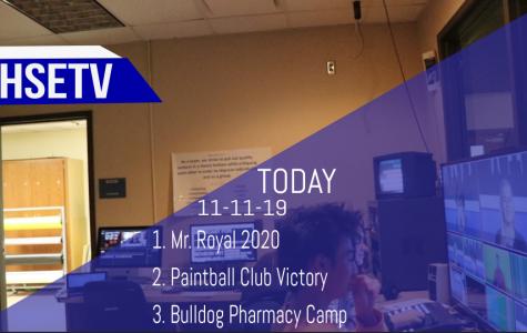 HSETV Newscast: Monday, November 11th, 2019