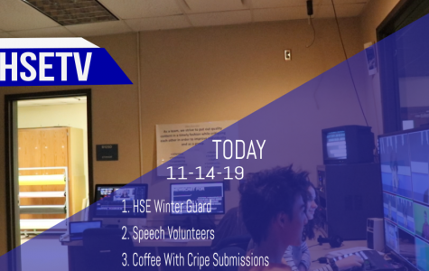 HSETV Newscast: Thursday, November 14th, 2019