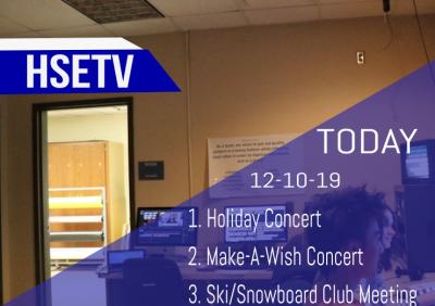 HSETV Newscast: September 9th, 2019