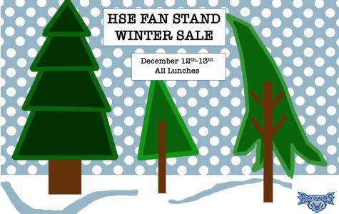 HSE Fan Stand Winter Sale