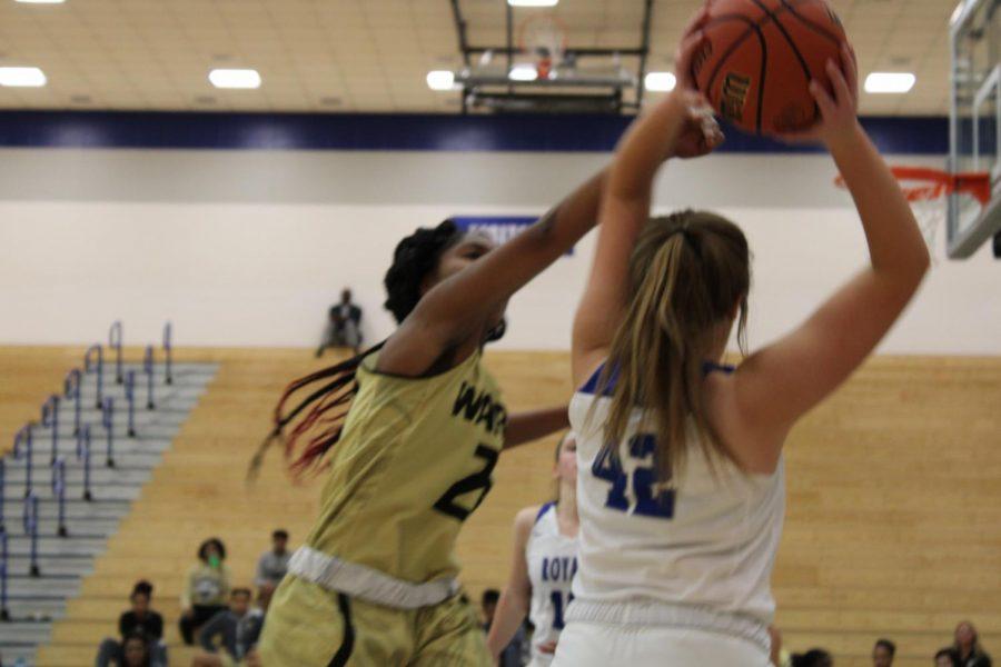 HSE+Girls+Basketball+vs.+Warren