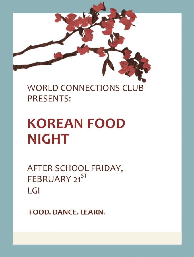 Korean Food Night