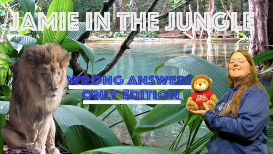 HSETV: Jamie in the Jungle Episode 3