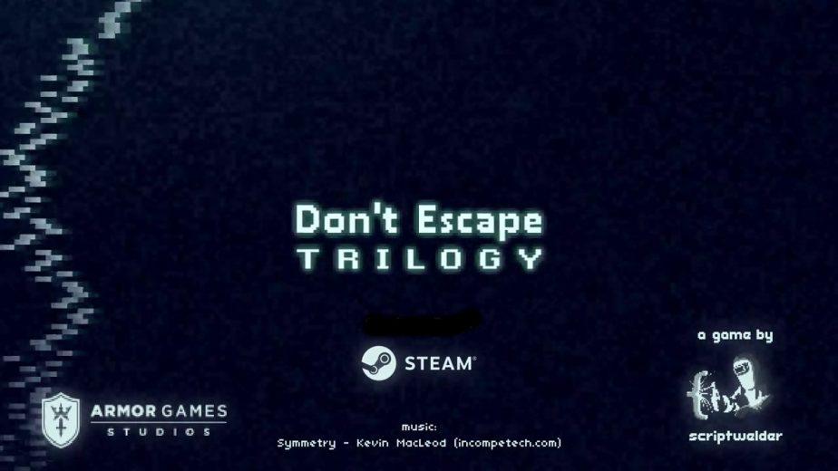 Dont Escape Trilogy Walkthroughs