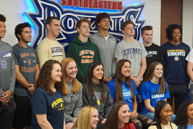 Photo Gallery: College Signing