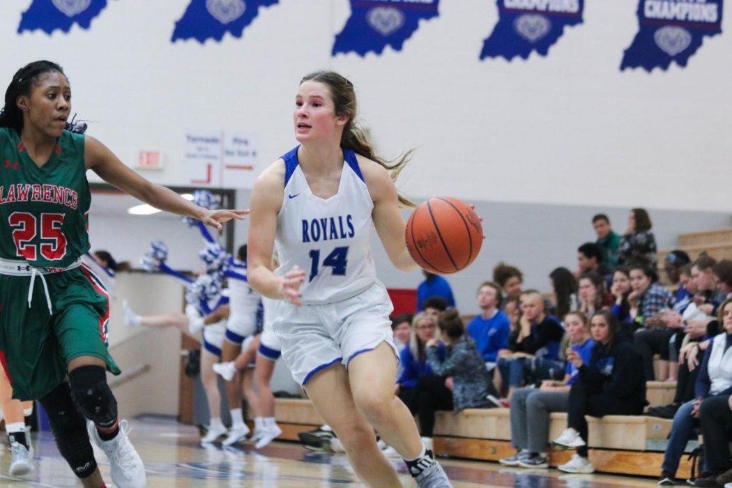 Varsity Girls Basketball Photo Gallery: Senior Night vs. Lawrence North