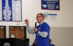 Athletic Director Jim Self explains the