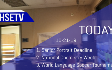 HSETV Newscast: Monday, October 21st, 2019