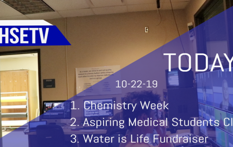 HSETV Newscast: Tuesday, October 22nd, 2019