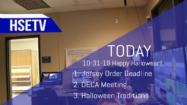 HSETV+Newscast%3A+Thursday%2C+October+31st%2C+2019