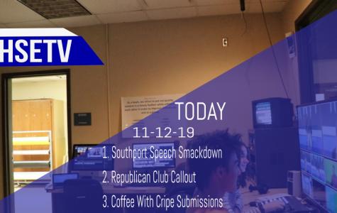 HSETV Newscast: Tuesday, November 12, 2019