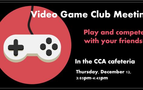 Video Game Club Meeting