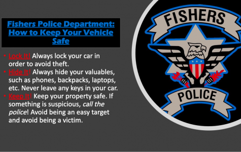 Fishers Police Department -How to Keep Your Vehicle Safe