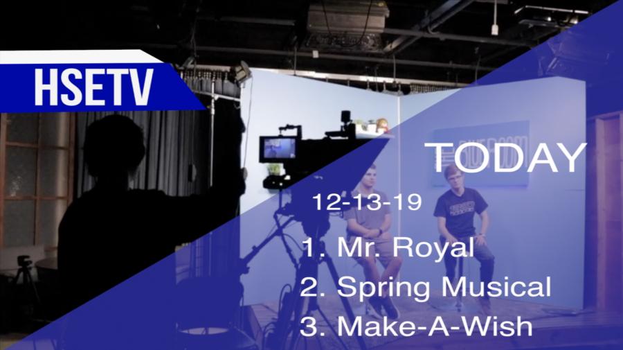 HSETV Newscast: Friday, Dec. 13, 2019