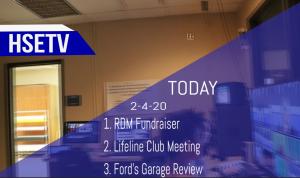 HSETV Newscast: Tuesday, February 4th, 2020