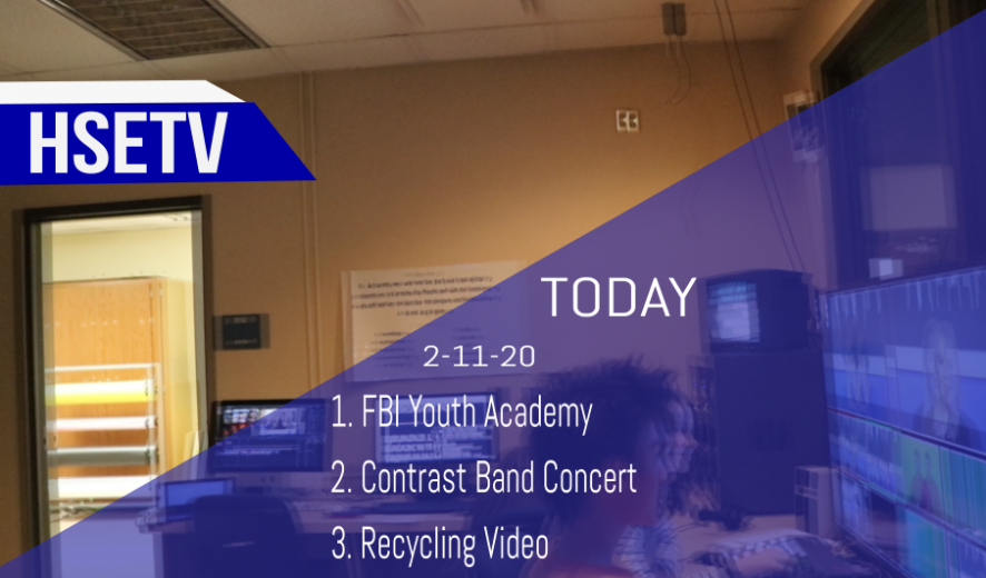 HSETV Newscast: Tuesday, January 14th, 2020