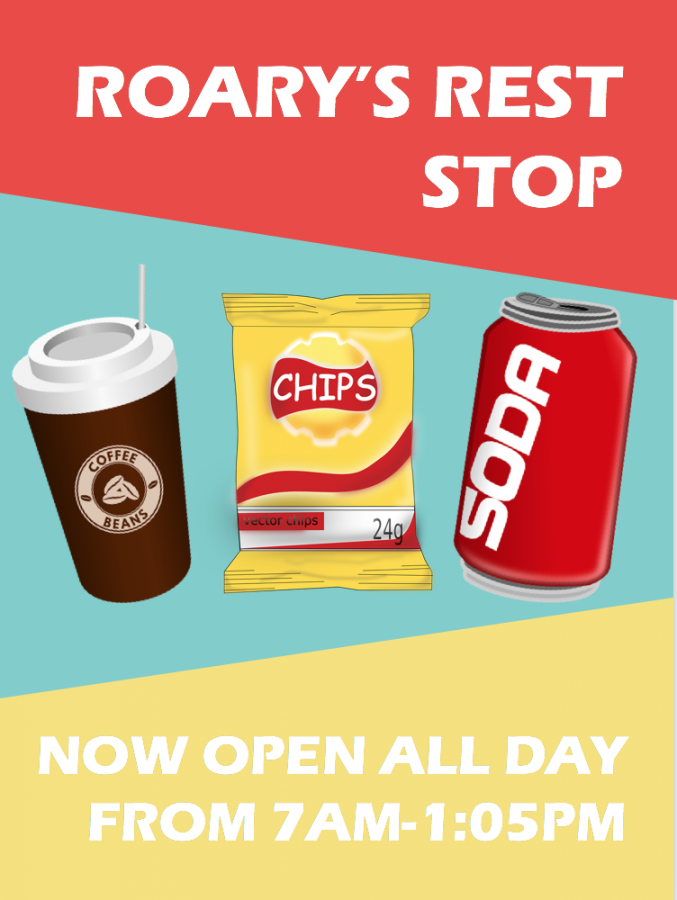 Roary's Rest Stop Is Now Open Everyday!