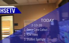 HSETV Newscast: Thursday, February 13th, 2020