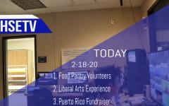 HSETV Newscast: Tuesday, February 18th, 2020