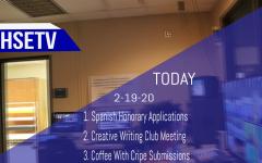 HSETV Newscast: Wednesday, February 19th, 2020
