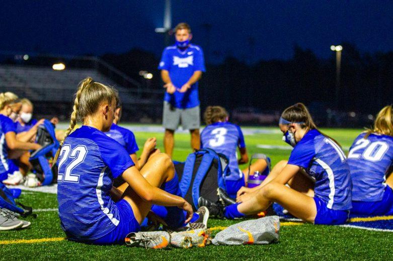 Girls Varsity Soccer Mudsock Photos