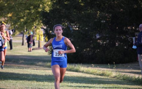 Halle Hill Sets New School Record