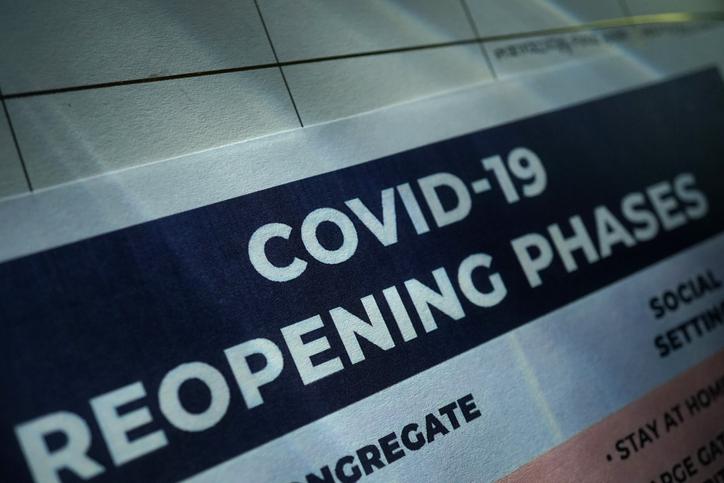 shot of coronavirus