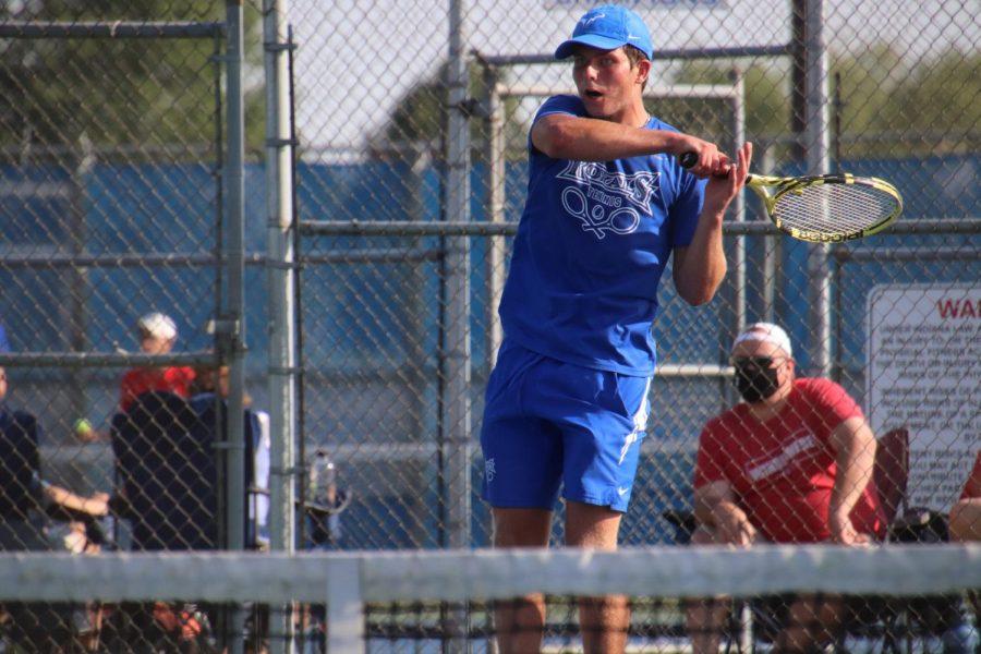 SSN: Andrew Orme Varsity Tennis