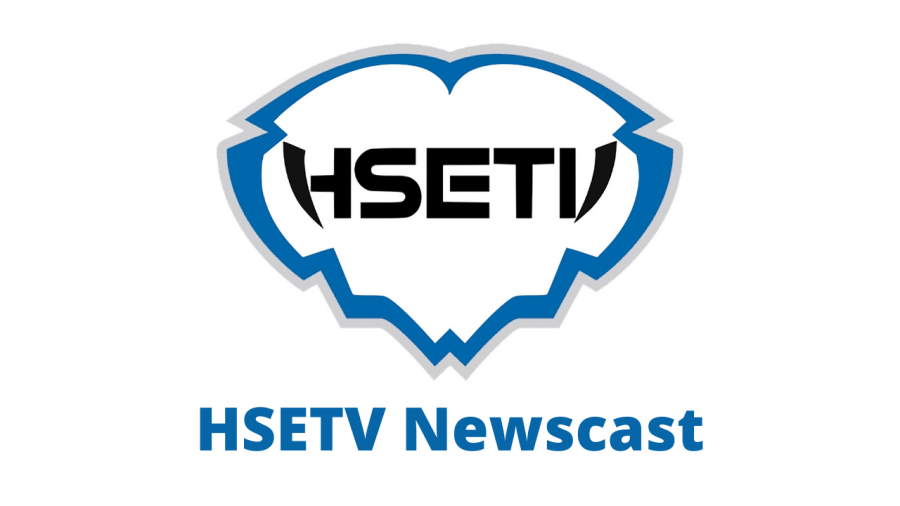 The HSETV Newscast logo developed by students from HSE News.