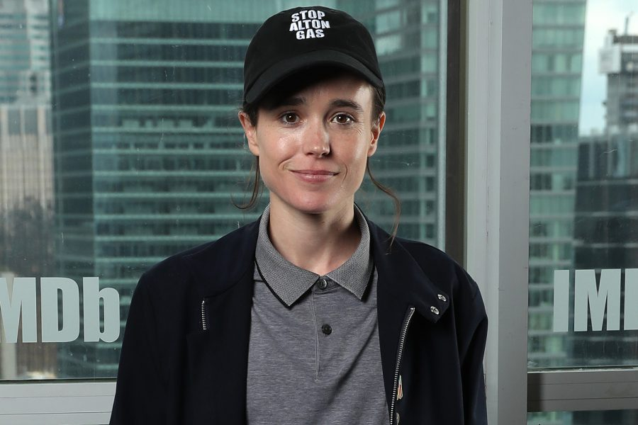 TORONTO, ONTARIO - SEPTEMBER 07: Ellen Page attends The IMDb Studio Presented By Intuit QuickBooks at Toronto 2019 at Bisha Hotel & Residences on September 07, 2019 in Toronto, Canada. (Photo by Rich Polk/Getty Images for IMDb)