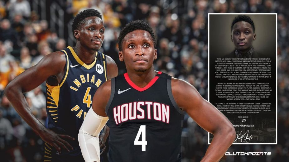 Victor Oladipo On The Move Again