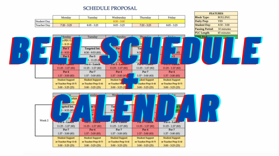 2021-2022 Bell Schedule and Calendar Explained